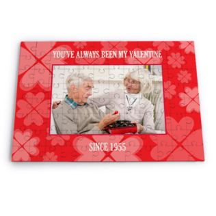 Personalised Valentine's Photo Jigsaw Puzzle Product Image