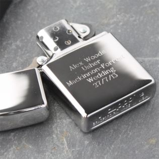Personalised Zippo Lighter Product Image