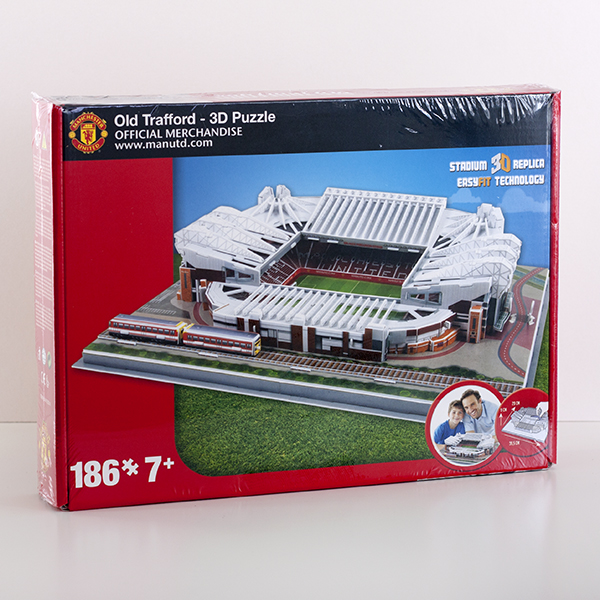 Manchester United Stadium 3D Puzzle - Puzzle Gifts