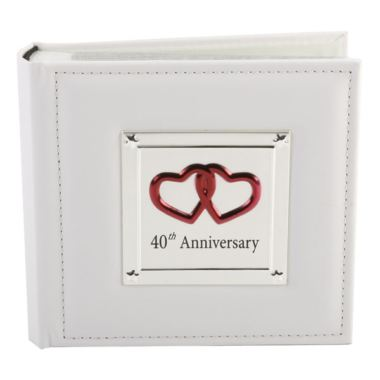 Gift Experiences For Wedding Anniversary : Ruby - 40th Wedding Anniversary Photo Album The Gift Experience
