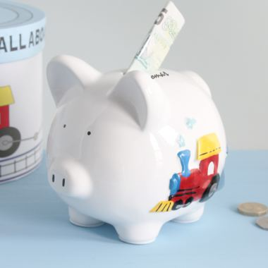 Personalised My First Piggy Bank