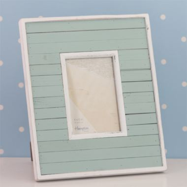 Bondi Blue Wooden Photo Frame 6 x 4
