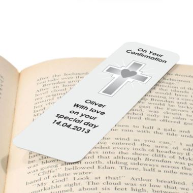 On Your Confirmation Personalised Bookmark