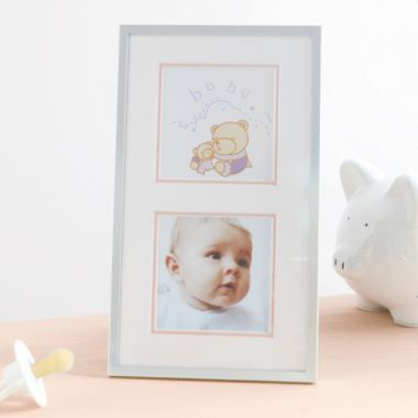 Baby Girl Double Photo Frame