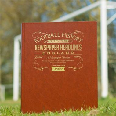 Personalised England Football Book