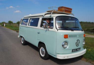 Three Day Hire of a Classic VW Camper Van