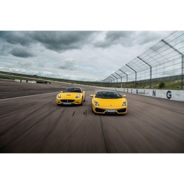 Double Supercar Blast with High Speed Passenger Ride and Photo
