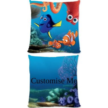 Personalised Disney Finding Dory Group Scene Large Cushion