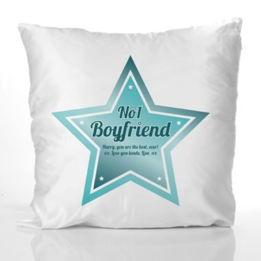 Best boyfriend personalised cushion the gift experience