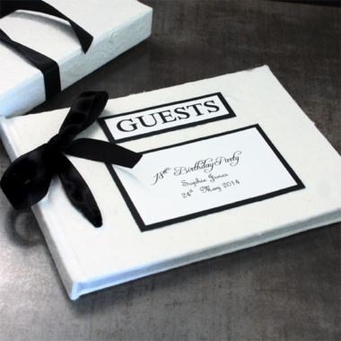 Personalised Handmade Guest Book