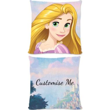 Personalised Disney Princess Rapunzel Large Cushion