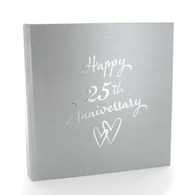 Gift Experiences For Wedding Anniversary : Silver Anniversary Photo Album The Gift Experience