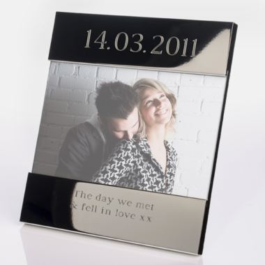 Engraved Special Date Photo Frame