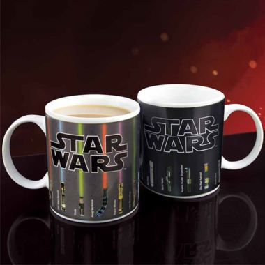 Star Wars Lightsaber Heat Changing Mug