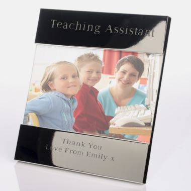 Engraved Teaching Assistant Photo Frame