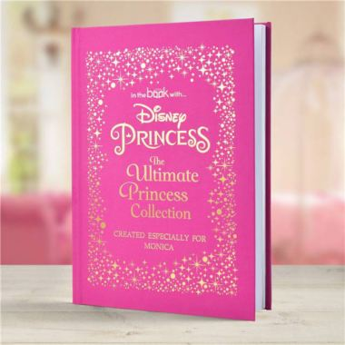 Disney Princess Ultimate Collection - Deluxe A3 Personalised Book