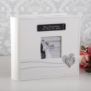 Wedding Gift Experiences : ... Wedding Day Silver Heart Photo Album The Gift Experience