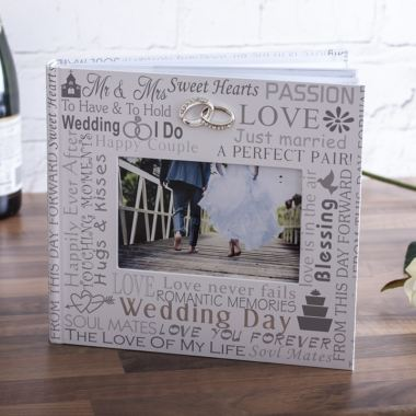 Wedding Day Photo Album 6x4 The Gift Experience