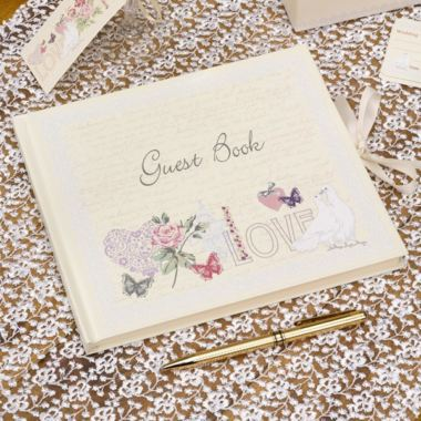 With Love Design Guest Book