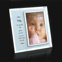 Baby Frosted Glass Frame