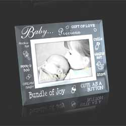 Baby Glass/Mirror Frame