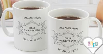 Celebrate Years Of Marital Bliss With A Personalised Anniversary Gift
