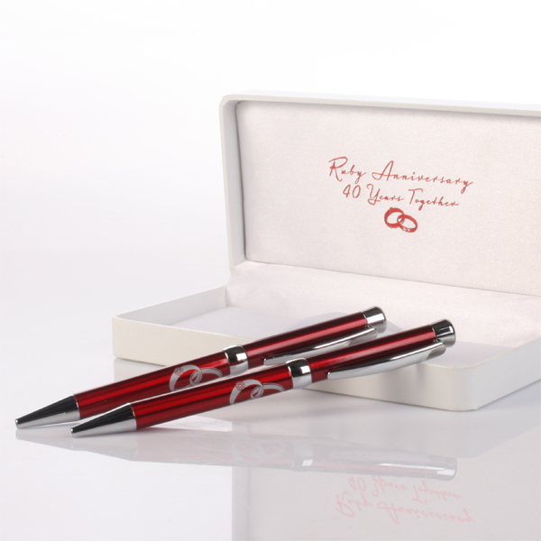 40th Anniversary Pens - 40th Gifts