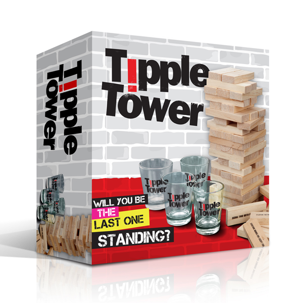 Tipple Tower Drinking Game - Drinking Game Gifts