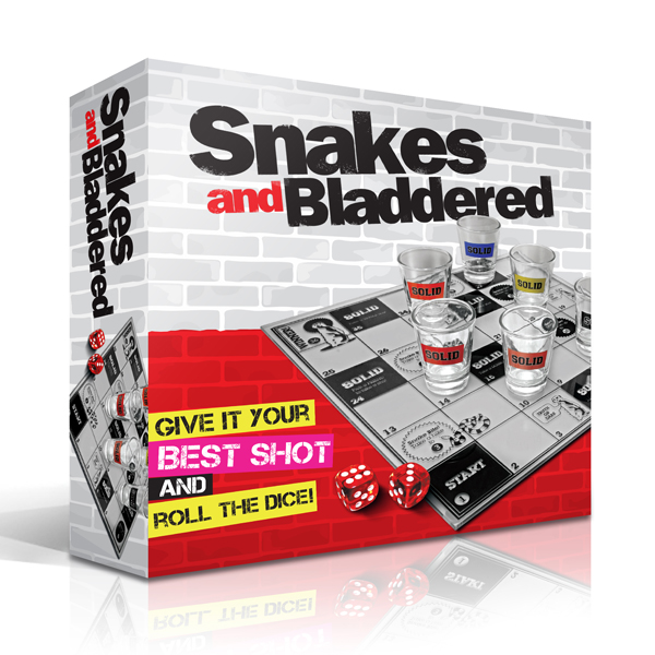 Snakes and Bladdered Drinking Game - Drinking Game Gifts