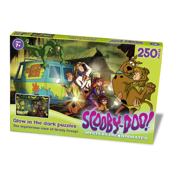 Scooby Doo Glow In The Dark Grady Creep 250pc Jigsaw Puzzle - Jigsaw Puzzle Gifts