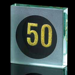 50 Years Paperweight