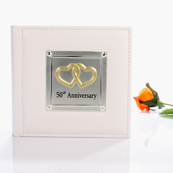 50th Anniversary Photo Album - Photo Album Gifts