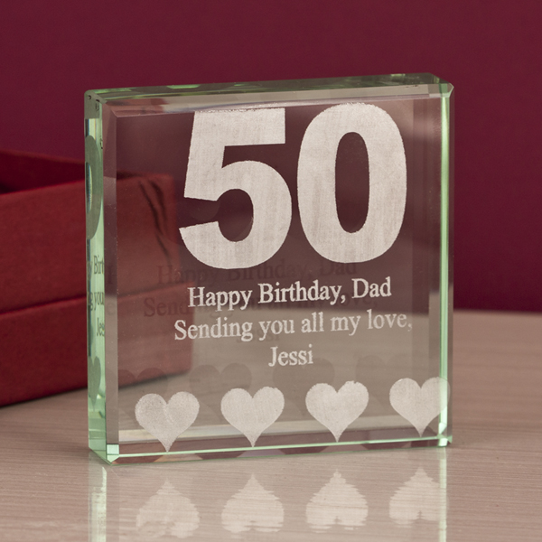 50th Birthday Keepsake