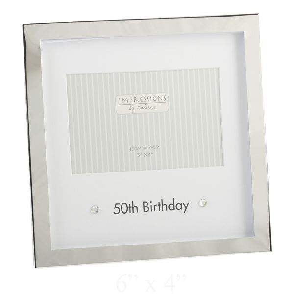 pictures for 50th birthday. 50th Birthday Box Photo Frame