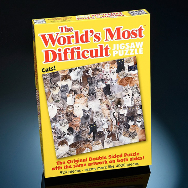 World's Most Difficult Jigsaw Puzzle - Cats - Jigsaw Puzzle Gifts