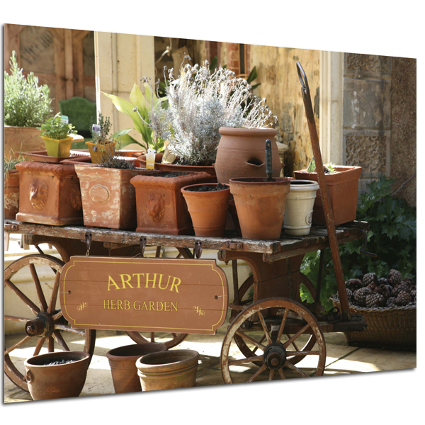 Personalised Herb Garden Poster Poster Only