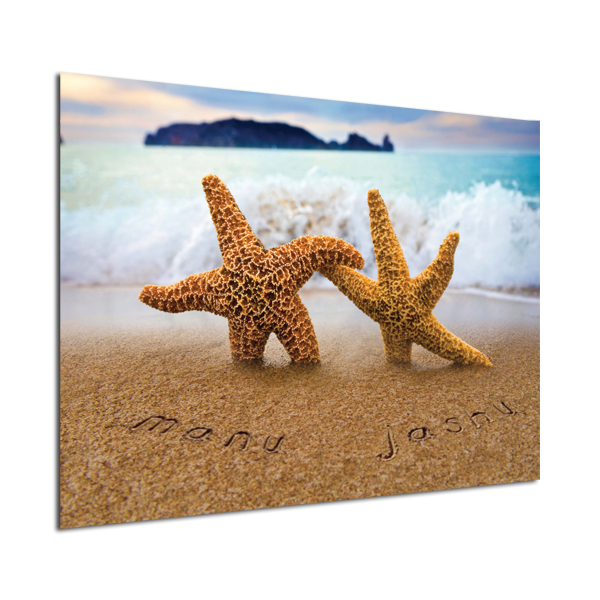 Personalised Poster Starfish Design Poster Only