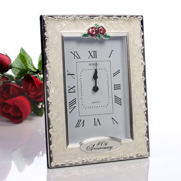 Gift Experiences For Wedding Anniversary : 40th Anniversary Clock The Gift Experience
