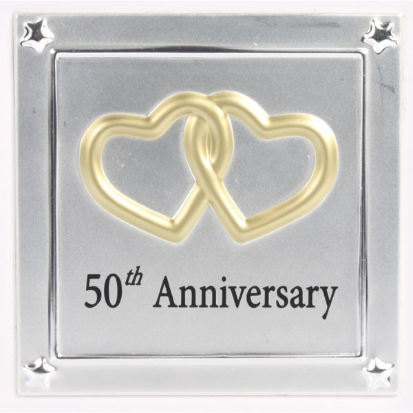 Gold 50th Wedding Anniversary Photo Album The Gift Experience