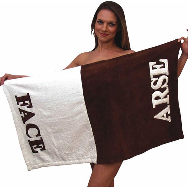 Arse Face Towel The Gift Experience