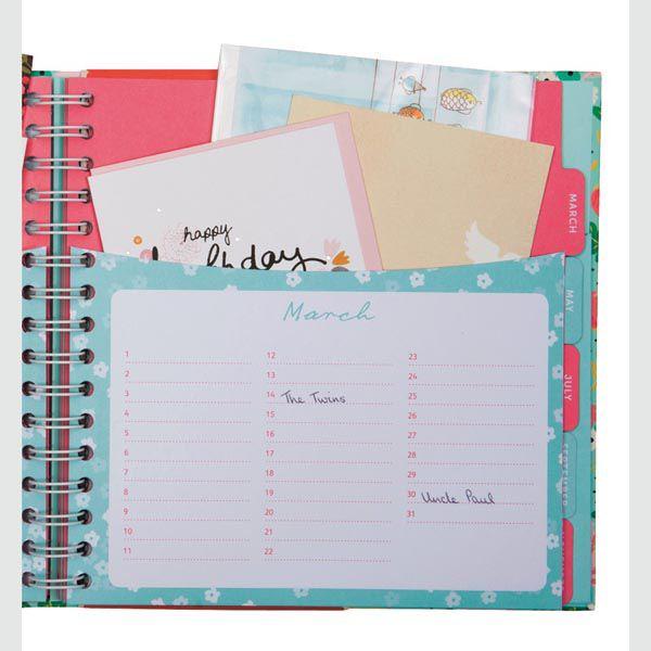 Greeting Card Organiser – Birthday Card Book