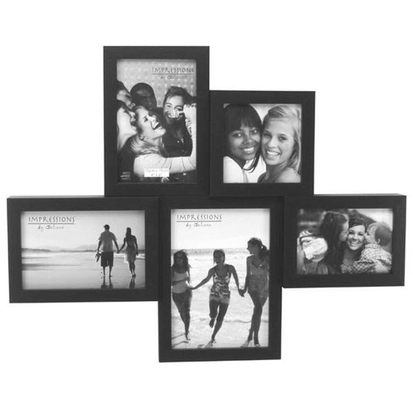 Black 5 Photo Collage Frame | The Gift Experience