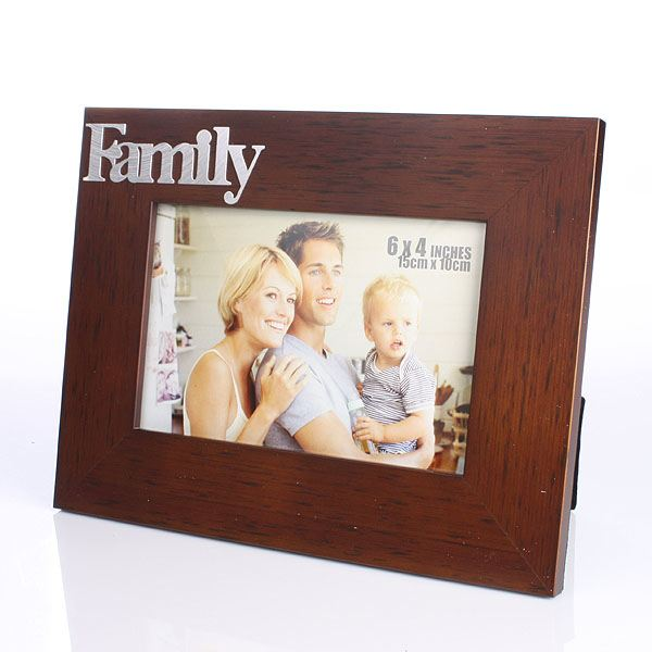 Family Wooden Frame From The Gift Experience