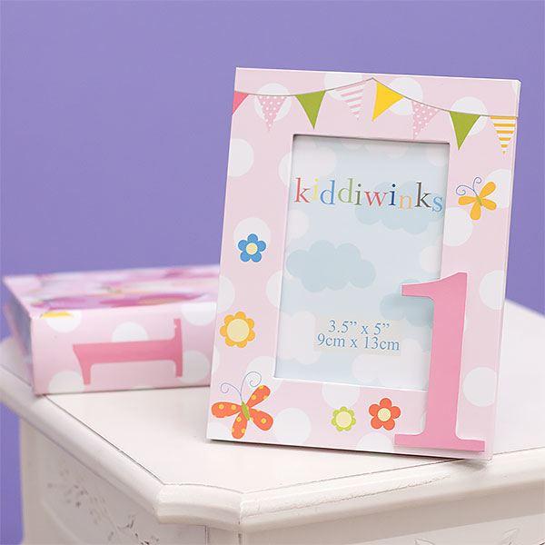 1st Birthday Photo Frame and Photo Album Set - Girl | The Gift ...