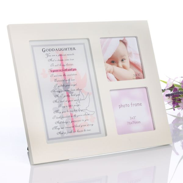Goddaughter sentiment photo frame the gift experience goddaughter sentiment photo frame negle Choice Image