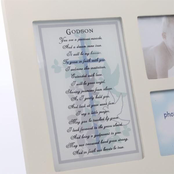 Godson Sentiment Photo Frame | The Gift Experience