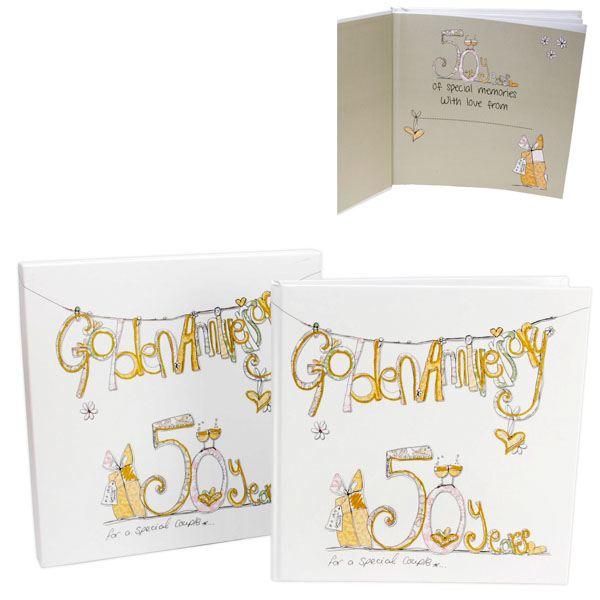 Golden Wedding Gift Experiences : Golden Wedding Anniversary Scrapbook The Gift Experience