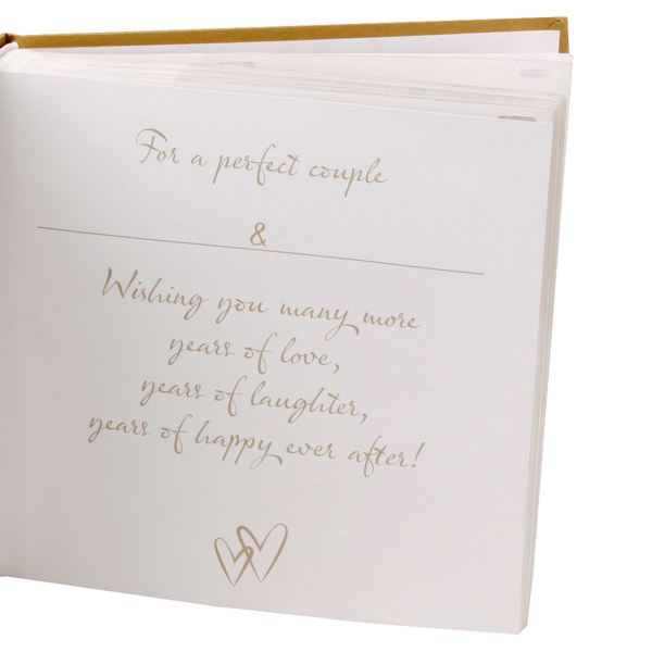 Gift Experiences For Wedding Anniversary : Golden Anniversary Photo Album The Gift Experience