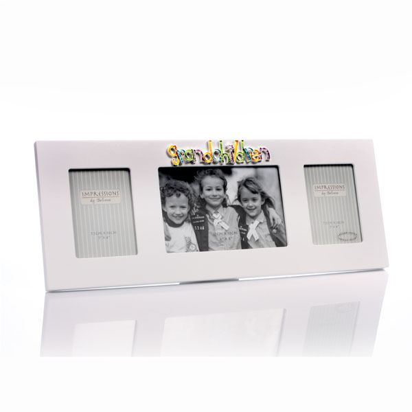 Grandchildren Triple Photo Frame | The Gift Experience