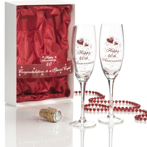 40 Year Wedding Anniversary Gift Ideas: The Choices For 40th Wedding Anniversary Gifts